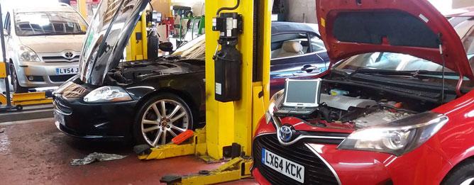 Toyota and Lexus Specialist Garage Sidcup